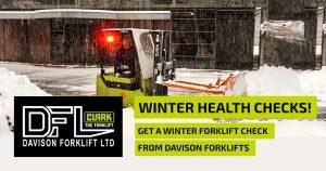 forklift winter health checks