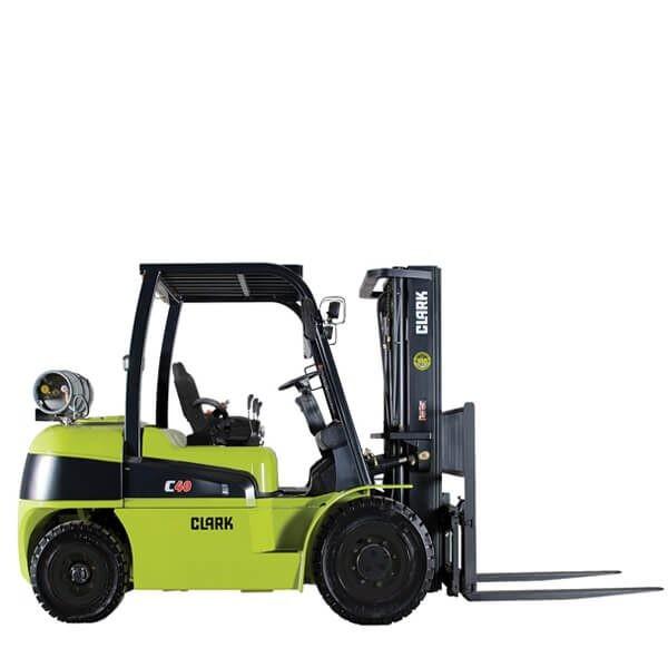 Clark Forklift with diesel or LPG drive C40-55s | Davison Forklift Ltd